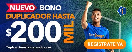 Bono de apuestas Betjuego - Bono de Bienvenida de 200000 pesos en Colombia