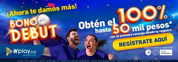 Casa de apuestas Bono Wplay de Bienvenida - Wplay Colombia