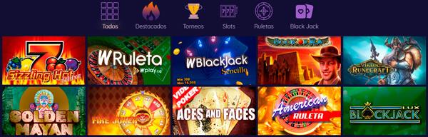 Wplay apuestas Colombia casino