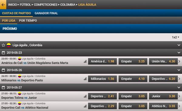 Wplay apuestas deportivas en Colombia