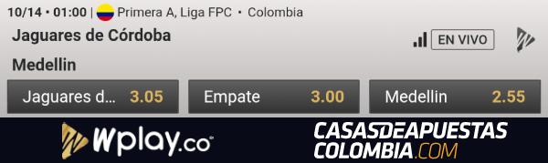 Apuestas Jaguares vs Independiente Medellín - Liga Águila 2019-II