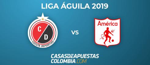 Cucuta vs. América de Cali - Liga Águila 2019-II