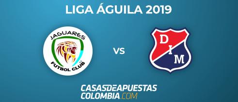 Jaguares vs Independiente Medellín - Liga Águila 2019-II