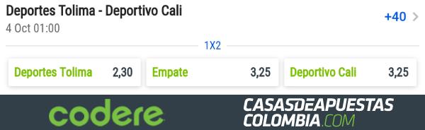 Liga Águila Pronóstico Tolima vs. Deportivo Cali Apuestas Deportivas Colombia