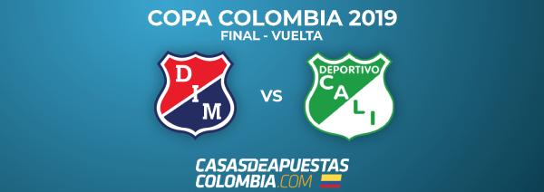 Final Copa Colombia 2019 - Independiente Medellín vs. Deportivo Cali - Vuelta