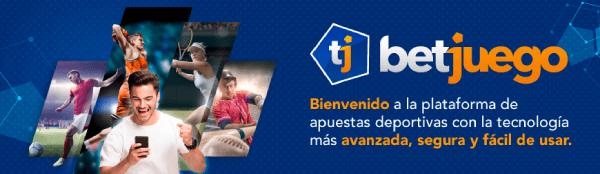 Casa de apuestas Betjuego en Colombia - Banner