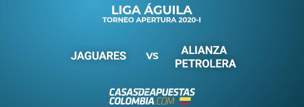 Liga Águila - Jaguares vs Alianza Petrolera - Pronóstico de Fútbol - 24/02/20