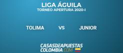 Liga Águila - Tolima vs Junior - Pronósticos de Fútbol - 22/02/20