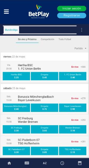 Betplay App Imagen