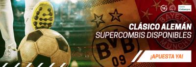 Borussia Dortmund vs. Bayern Múnich - Pronósticos y cuotas de apuestas