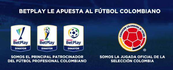 Betplay - Patrocinio Fútbol Dimayor