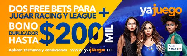 Código Promocional Yajuego - Hasta 200.000 COP GRATIS