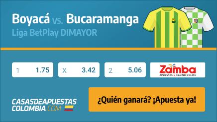 Apuestas Pronósticos Bucaramanga vs. Boyacá - Liga Betplay 19/01/21