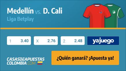 Apuestas Pronósticos Medellín vs. Deportivo Cali - Liga Betplay 25/02/21