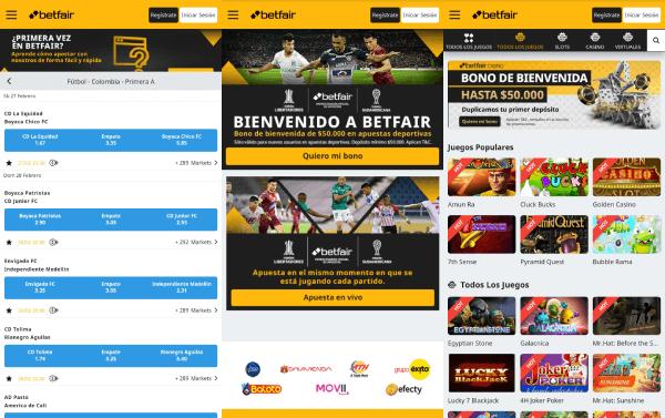 Betrfair Colombia - Descargar App Apuestas Android iOS