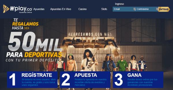 Wplay apuestas deportivas Colombia Homepage