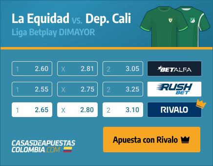 Apuestas Pronósticos Equidad vs. Dep. Cali - Liga Betplay 01/04/21
