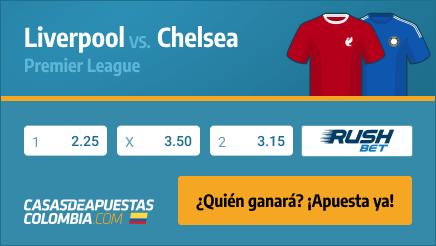 Apuestas Pronósticos Liverpool vs. Chelsea - Premier League 04/03/21