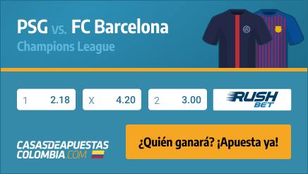 Apuestas Pronósticos PSG vs. Barcelona 10/03/21 - Champions League