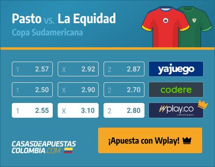 Apuestas Pronósticos Pasto vs. La Equidad - Copa Sudamericana 08/04/21
