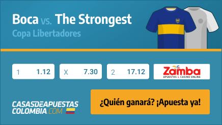 Apuestas Pronósticos Boca Juniors vs. The Strongest - Copa Libertadores 2021 - 26/05/21