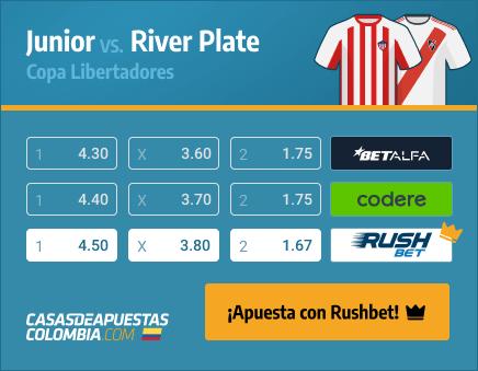 Apuestas Pronósticos Junior vs. River Plate - Copa Libertadores 12/05/21
