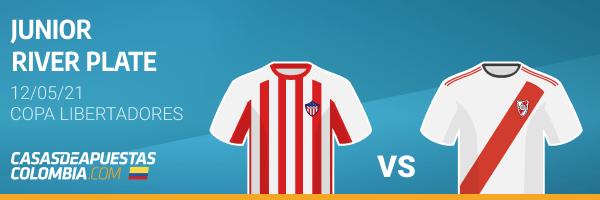 Pronósticos Junior vs. River Plate - Copa Libertadores 12/05/21