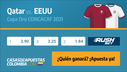 Apuestas Pronósticos Qatar vs. EE. UU. - Copa Oro CONCACAF 29/07/21