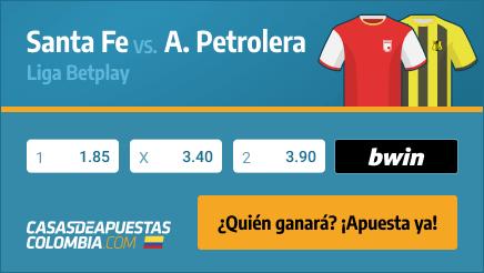 Apuestas Pronósticos Santa Fe vs. Alianza Petrolera - Liga Betplay 11/09/21